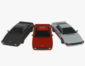 3D model esprit s3 turbo pack