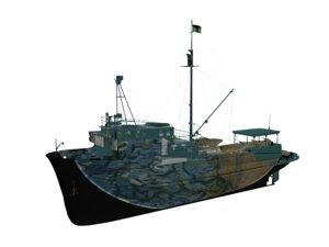 ship vessel 3D