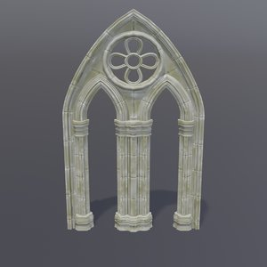 gothic arch 3D