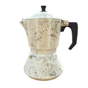 ceramic coffee pot 3D model