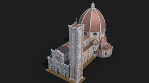 3D cathedral florence model