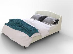 bed comfortable 3D model