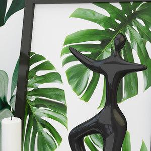 decorative set interior 3 3D model