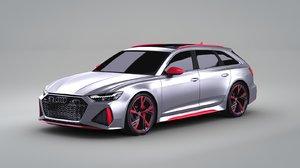 3D premium sport car exterior model