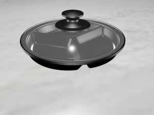 stainless steel divided tray model