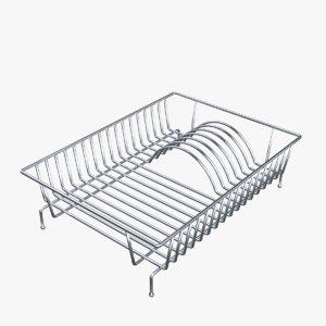 dish rack 3D