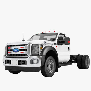 f450 2012 truck 3D model