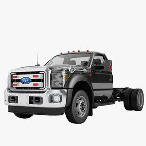 3D f450 2012 truck model
