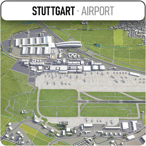 stuttgart airport - str model