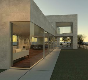 private residence 3D model