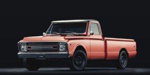 generic farm pickup truck vehicle model