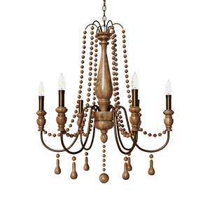 young home accents chandelier 3D