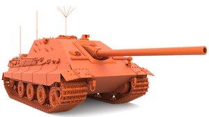 3D jagdpanzer 75 stl