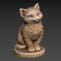 Cat figurine HP LP printable