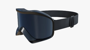 3D ski goggles