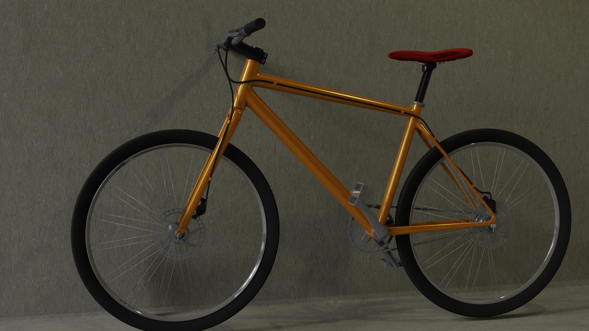 commuter bike 3D