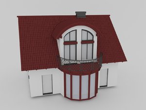 cottage house 3D model