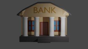 3D bank town