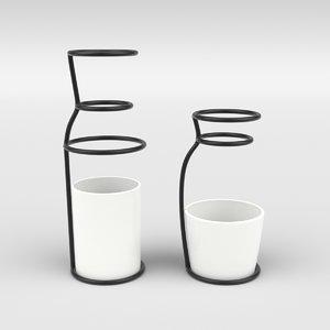 nordic vase 3D model
