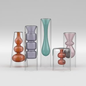glass colour yves 3D model