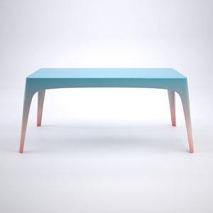 table slump 3D