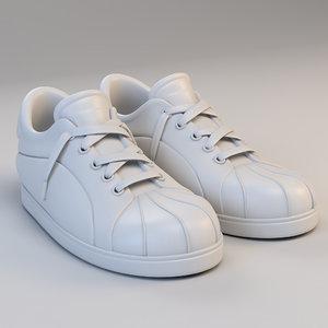3D cartoon star sport shoes