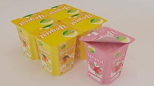 flavoured yogurt model