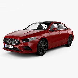 3D model mercedes-benz e a-class