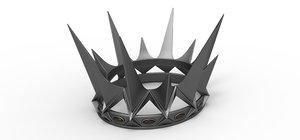 crown 2012 3D model