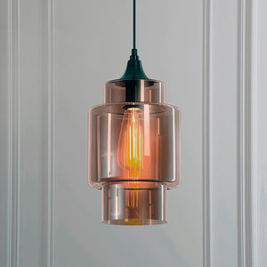3D hanging lamp loft house