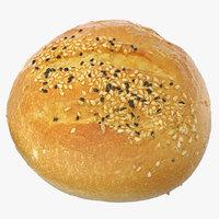 Small Round Bread 01