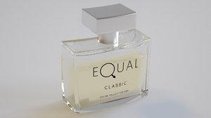 3D model perfume equal