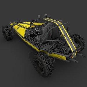 dune buggy games 3D model