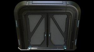 sci-fi door model