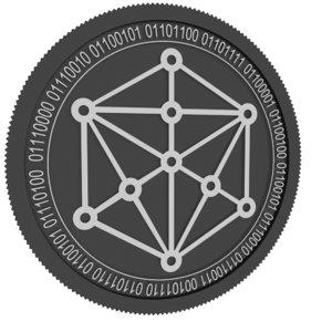 3D tokenomy black coin