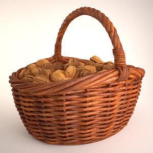 walnuts basket model