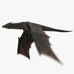 3D dragon animation model