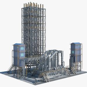 3D industrial area 11