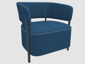 3D rc armchair blasco vila model