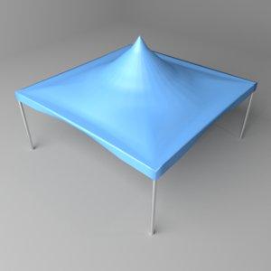 tent frame 3D model