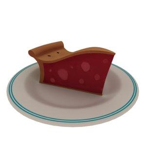 3D piece pie