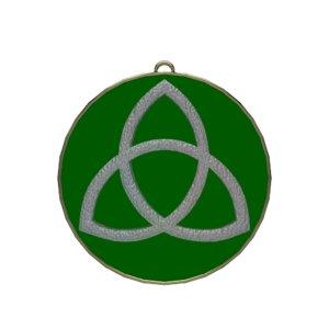 3D triquetra symbolize