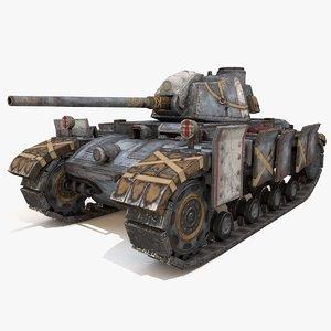 tank vehicle 3D model
