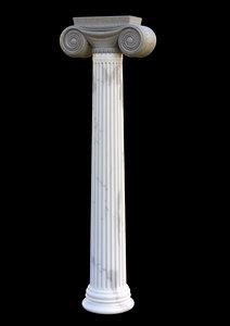 3D corint column model