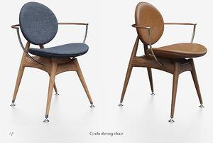 3D elegant chair