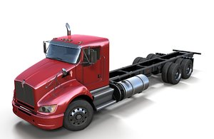 t440 cab chassis truck 3D