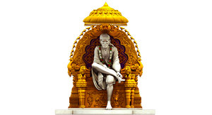 3D shirdi sai baba model