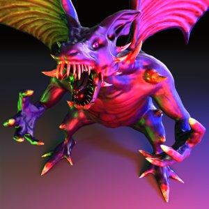 demon dragon model