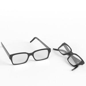 glasses 2 3D model