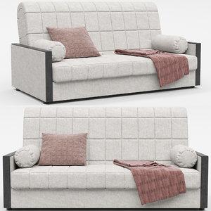 3D model hoff milena sofa